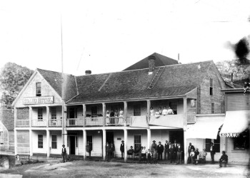 Old Picture of the Idaho Hotel