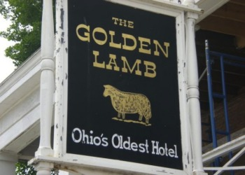 The Golden Lamb - Oldest Hotel in Ohio and Haunted