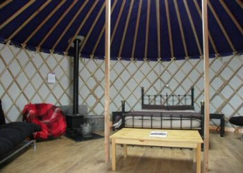 Deepdale Backpackers Yurt Interor