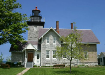 Thirty Mile Point Lighthouse in Golden Hill State Park, New York