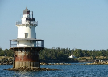 Goose Rocks Lighthouse in Maine
