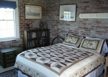 Rose Island Lighthouse Bedroom