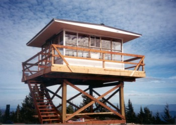 Quartz Mountain Lookout Rental in Washington