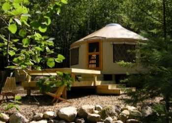 Frost Mountain Yurts Campsite