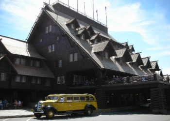 Old Faithful Inn - Yellowstone National Park
