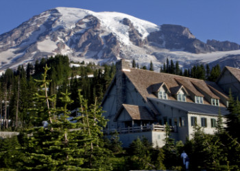 Paradise Inn at Mount Rainer