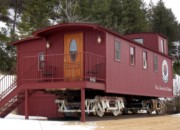 The Caboose at Chico Hot Springs