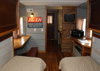 Railside Lodging's Family Line Caboose Beds