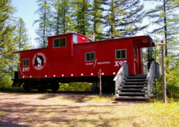 Izaak Walton Inn Caboose