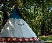 At Boulders Edge Cabin and Tipi