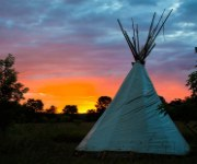 Upper Sioux Agency State Park Tipi