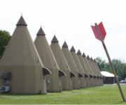 The Teepee Motel - Wharton, Texas