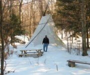 Abram's Creek Retreat & Campground Teepee