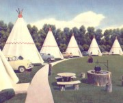 Wigwams and Teepees on Route 66