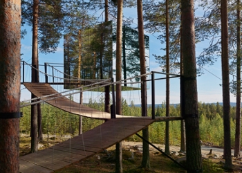 Mirrorcube Treehotel in Sweden