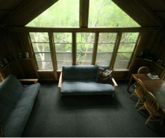 Edisto River Treehouse Inside