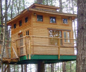 Vertical Treehouse - 2 stories