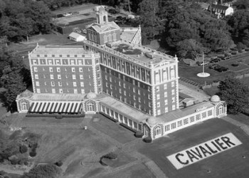 Haunted Cavalier Hotel In Virginia Beach On April 4 9 1927 A Grand Ceremonious Opening For The Was Held Style Of Hostelry Had Returned